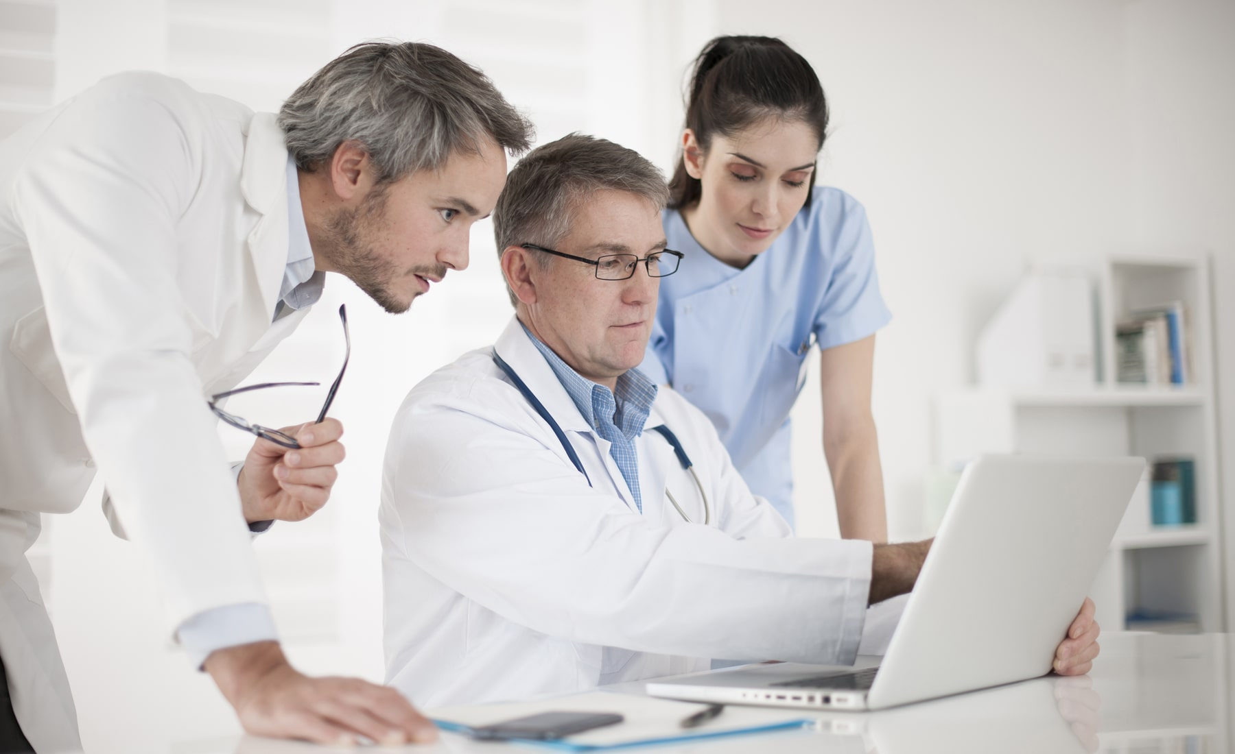 Physician can record the patient's symptoms, diagnose, and order treatment plans